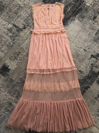 Шикарное нарядное выпускное платье Плаття сукня кружево как Zara