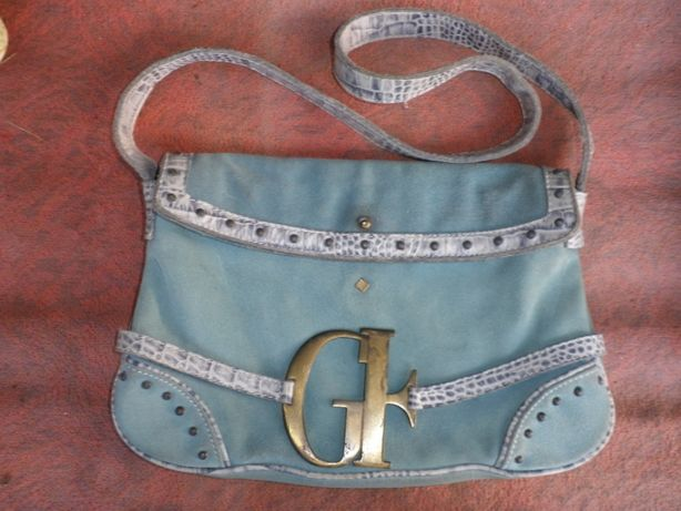 сумка замшева Ferre, кожаная сумка, шкіряна сумочка