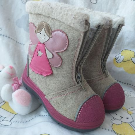 Валенки валянки сапожки зимние ботинки черевики на овчине 14,5см