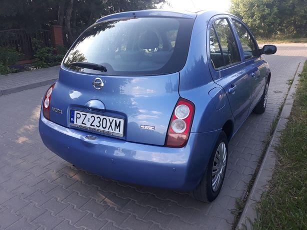 Nissan Micra Benzyna 1.2 Klima Czujniki przód i tył Stan BDB