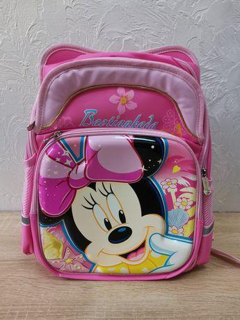Ортопедичний шкільний рюкзак. Школьный рюкзак Minnie Mouse