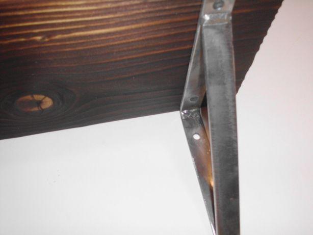 Wspornik na półki - Masywny, Surowy, Industrialny - Loft - Wysyłka