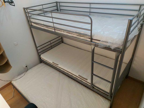 Beliche IKEA - 3 Colchões incluídos - Usado Como NOVO
