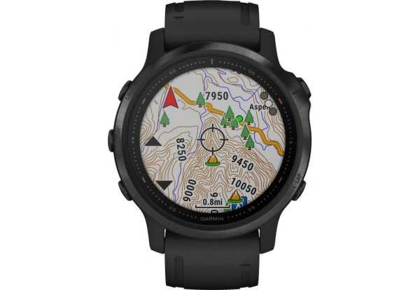 Смарт-часы Garmin Fenix 6S Pro Black With Black Band (010-02159-14)