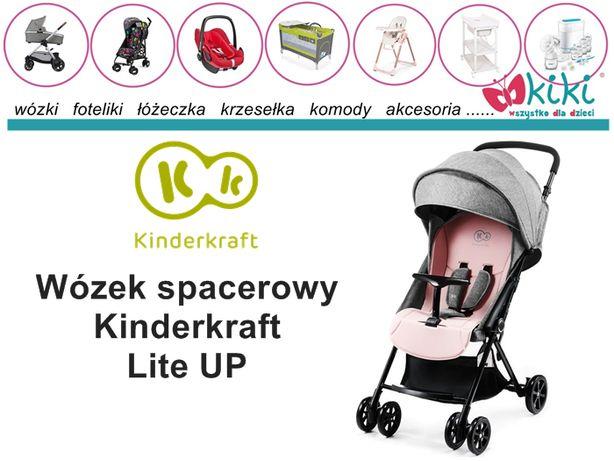 Wózek spacerowy dla dziecka Kinderkraft Lite UP KOLOR SZARY