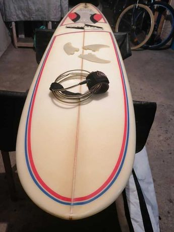 7 Evolution Malibu surfboard 7.5 Funboard prancha de surf Fins