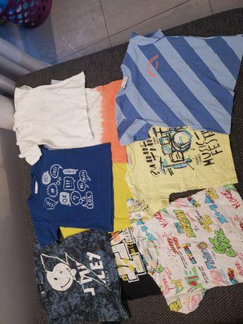Bluzeczki dziecięce na chłopca 104-116
