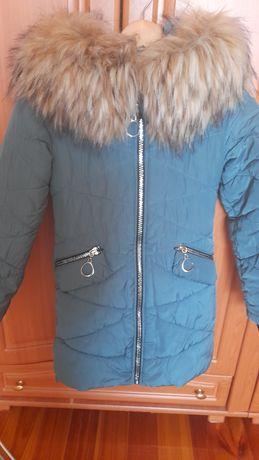Пальто зимове на дівчинку