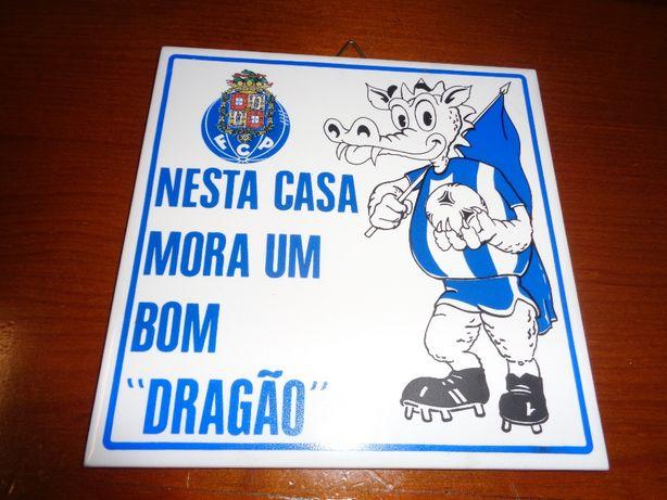 Azulejo Nesta Casa Mora Um Bom Dragão Futebol Clube do Porto
