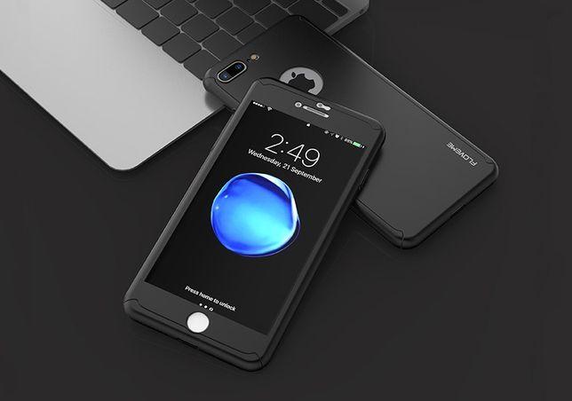 Capa Hibrida Proteção 360 iPhone 5 6 6S 7 Plus 8 X + Pelicula Vidro