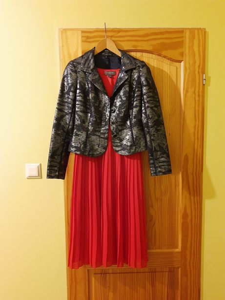 Sukienka damska 36, żakiet