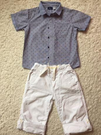 Рубашка шорты Chicco комплект рост 122