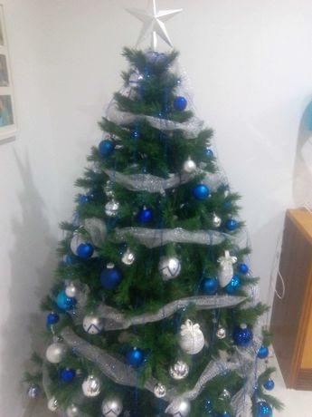 Pinheiro de natal  - Oferta da decoração azul!