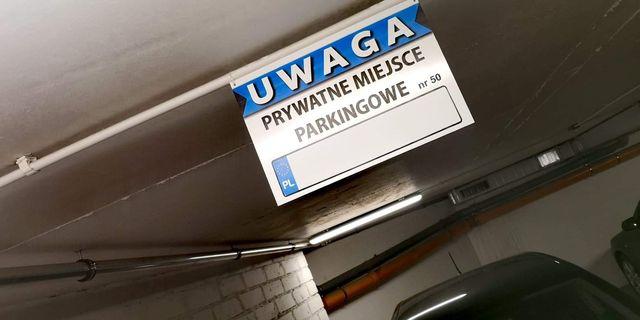Wynajmę miejsce parkingowe w centrum Łodzi garaż podziemny