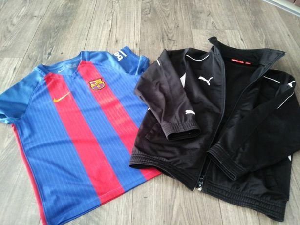 koszulka nike Barcelona+bluza PUMA