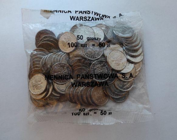 monety-50 groszy 1995 r-woreczek menniczy !!!