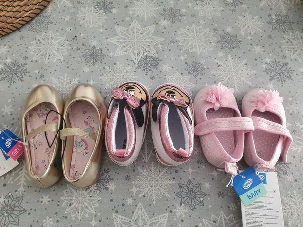 Buty dziewczęce rozm.19 i 22
