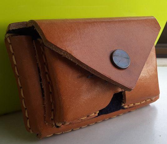Bolsa artesanal de cinto para telemóvel