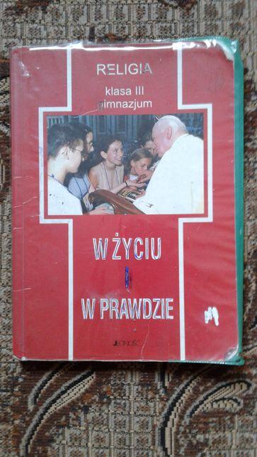 Religia podręcznik 3 wydanie.
