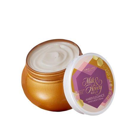 Oriflame - Krem Mleko i Miód Gold Amber Elegance