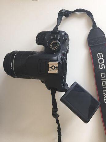 Canon 700D + Objectivas Canon 18-55 e 10-18 e objectiva Tamron 28-80