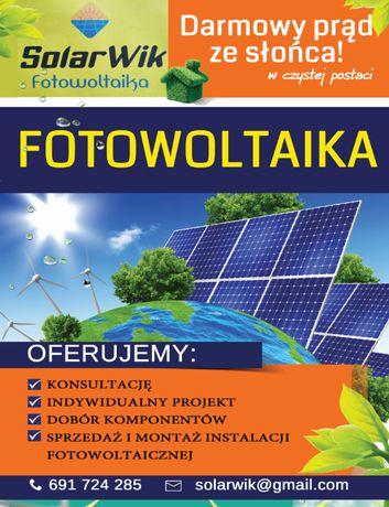 Fotowoltaika, montaż instalacji fotowoltaicznej, panele PV