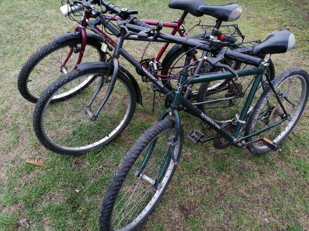 Sprzedam trzy rowery
