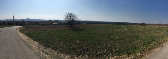 Widokowa działkabudowlano-rolna na Jurze, Hucisko gm. Włodowice 0,65h