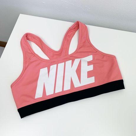 Спортивный топ Nike original M женский идеал большой логотип