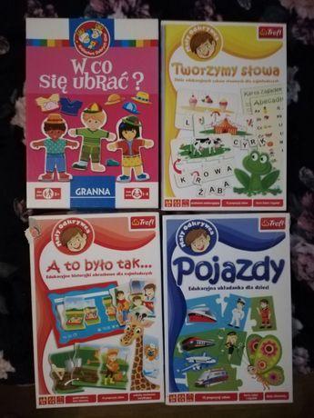 Zestaw 4 gier dla dzieci