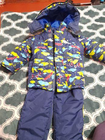 Зимний костюм на мальчика 2-4 года, р. 92,98