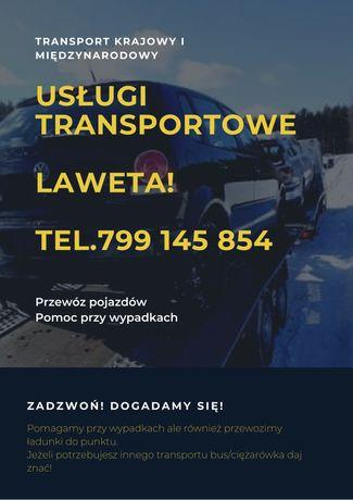 Laweta Dobre Miasto usługi transportowe