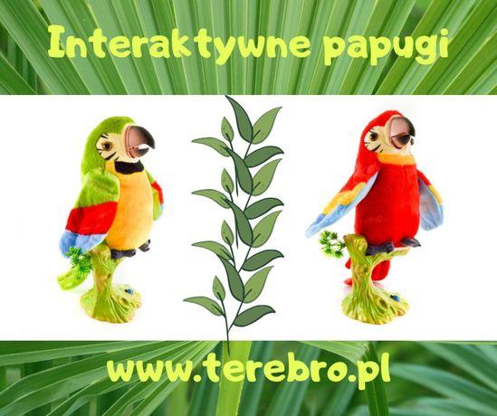Nowa zabawka - Interaktywna,gadająca,pluszowa papuga