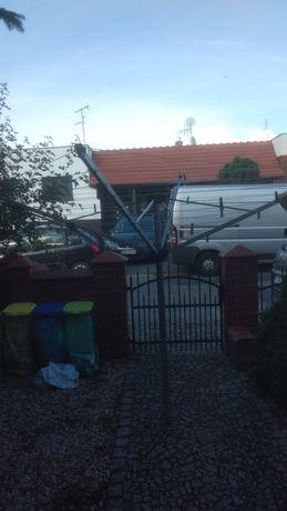 Suszarka ogrodowa Aquapur z solidną podstawą
