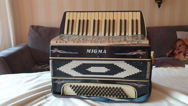 Akordeon Migma 80 basów 3 chory