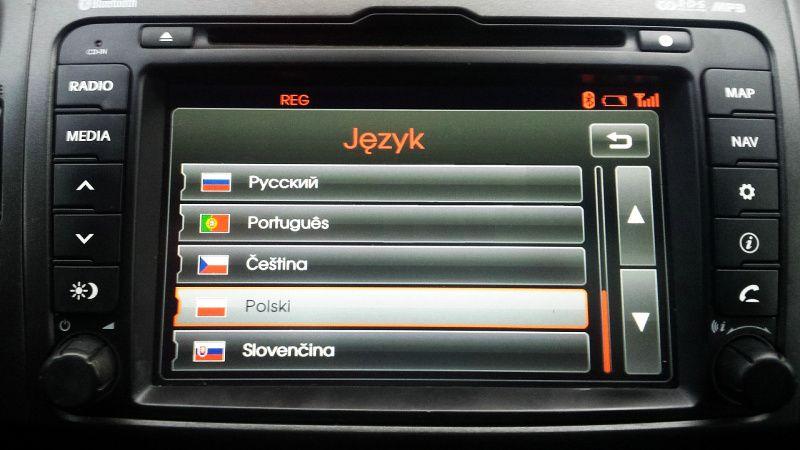 KIA Hyundai mapa Europy Polskie Menu Polski Lektor Aktualizacja 2020 Olsztyn - image 1