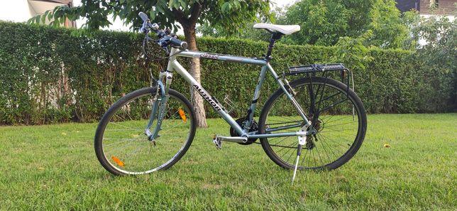 Author Classic rower trekkingowy rama 22 koła 28 bagażnik pod sakwy