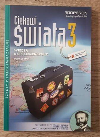 Podręcznik Ciekawi świata 3 Wiedza o społeczeństwie ponadgimnazjalne