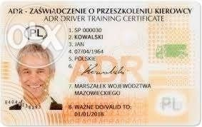 Kursy adr podstawowy i specjalistyczny.Kursy UNO NALEWAKI Rybnik,Żory