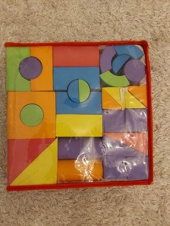 Развивающие игрушки мягкие кубики фигуры из пенополистирола