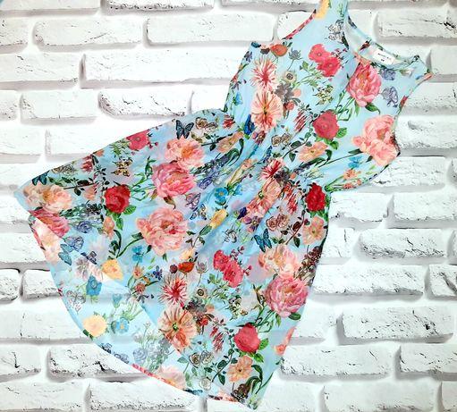 Летнее шифоновое платье H&M для девочки 9÷10 лет