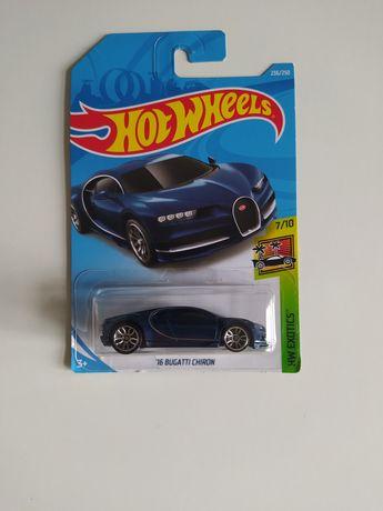 Samochód hot wheels Bugatti Chiron