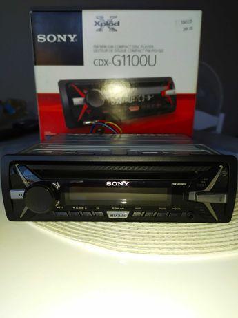 Radio samochodowe Sony CDX-G1100U w stanie idealnym.