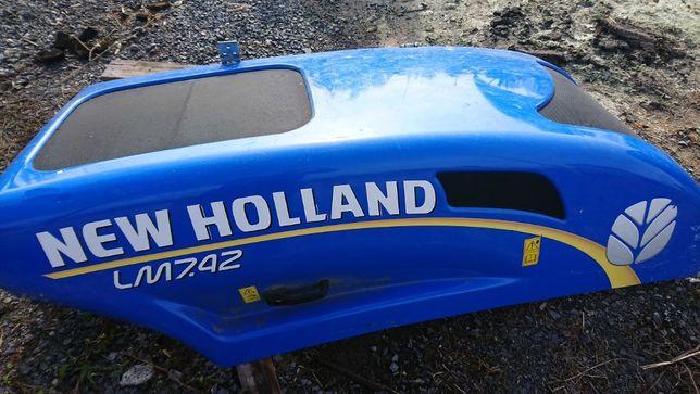 maska pokrywa osłona silnika New Holland LM7.42 LM9.35 LM7.35 LM6.35