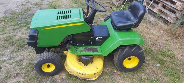 Traktorek kosiarka traktor mtd John deere 15km dla majsterkowicza