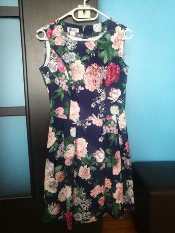 Sukienka w kwiaty Vubu rozmiar S