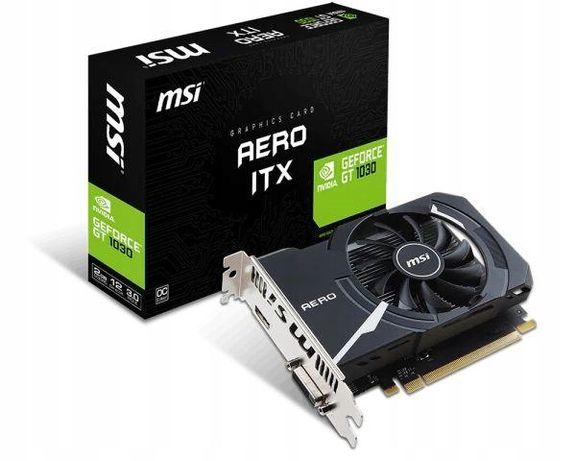 MSI GeForce GT 1030 AERO ITX 2GD4 OC Sklep Grafik-iT f-vat 23%