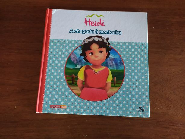 Livro criança Heidi