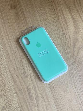 Apple etui case iphone xr miętowy