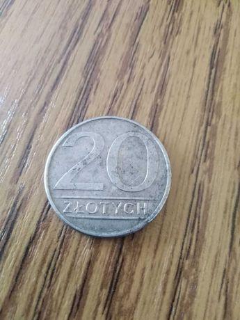 Sprzedam monetę 20 zł z okresu PRL 1985r.